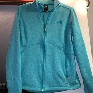 Mint Green The North Face Shell Jacket
